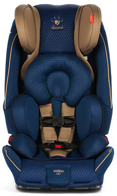 Diono Radian 3 RXT JMC Convertible + Booster Child Safety Car Seat Blue Gold NEW