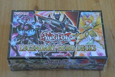 Yu-Gi-Oh! Legendary Hero Decks Box Deutsch 1. Auflage Neu & OVP