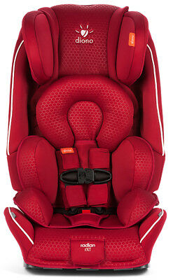 Diono Radian 3 RXT JMC Convertible + Booster Child Safety Car Seat Maroon White