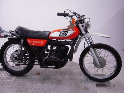1975 Yamaha DT250B Unregistered US Import Barn Find Classic Restoration Project