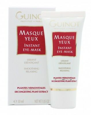 Guinot Masque Yeux Instant Eye Mask - Women's For Her. New. Free Shipping