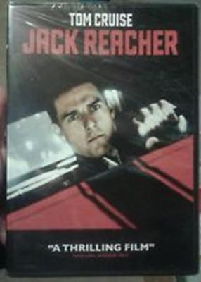 JACK REACHER (DVD, 2013, Widescreen) New / Factory Sealed / Free Shipping