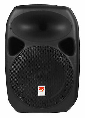 "Rockville 12"" Passive 800W DJ PA Speaker ABS Lightweight Cabinet 8 Ohm"