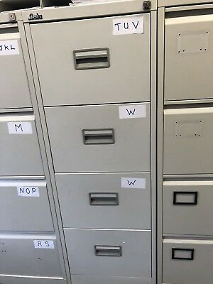 4 drawer filing cabinet - good condition - Collection only