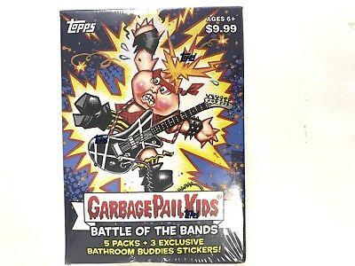 2017 Topps Garbage Pail Kids Battle Of The Bands Blaster Box