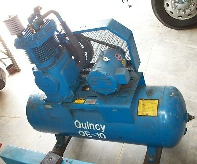 #10031: Quincy 10 HP Two Stage Air Compressor