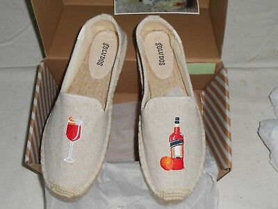 9e90e1c1b46 NEW SOLUDOS THE Spritz Platform Sand Smoking Slipper (1000376 270) - Size 8  -  49.97