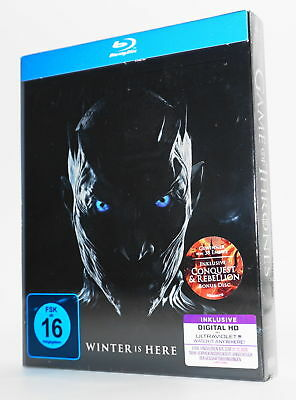 GAME OF THRONES Blu-ray 7. Staffel / Season 7 - Neu & OVP + Digital HD UV Copy