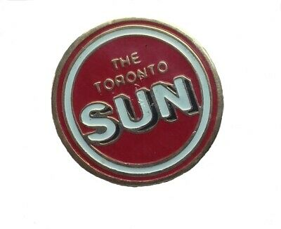 The Toronto SUN lapel pin pre-owned