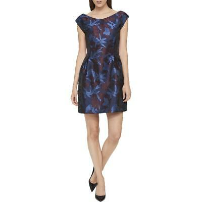 Tommy Hilfiger Womens Floral Special Occasion Cocktail Party Dress BHFO 5454