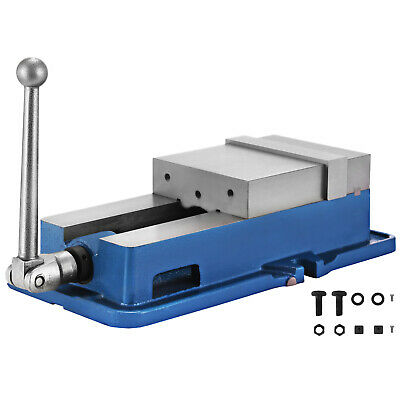 6 Inch Precision Vise With Lock Vice Milling Drilling Machine Bench Clamp UK