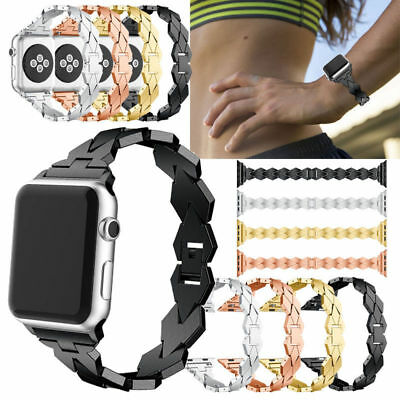 Stainless Steel Bracelet iWatch Band Strap For Apple Watch Series 3/2/1 42/38MM