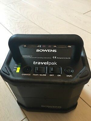 Bowens battery travel pak (small) - excellent condition