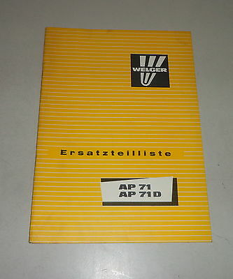 Motors 1964 Parts Catalog/spare Parts List Köla Selbstladewagen Ea 30 Farming & Agriculture