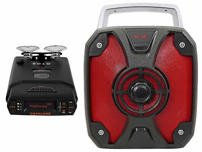 Escort SOLO S4 Cordless Battery Operated Radar Laser Detector + ROCKBOX