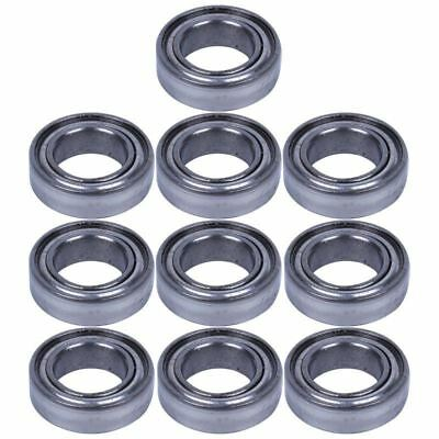 10pcs Miniature Rubber Sealed Metal Ball Bearing MR148-ZZ 8X 14 X 4Mm F6J9 A