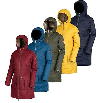 Regatta Womens/Ladies Romina Long Hooded Waterproof Breathable Raincoat £37.99