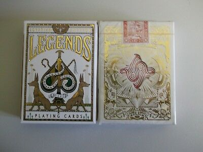 "SEALED PACK ""Bicycle Type - Legends Egyptian Edition"" Pack of Playing Cards"