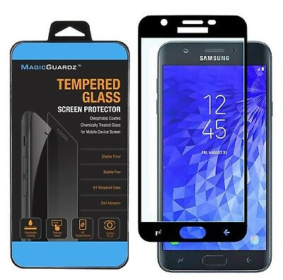 For Samsung Galaxy J7 (2018) Full Cover Tempered Glass Screen Protector