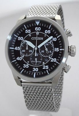 Citizen ECO-DRIVE Solar Sport-Chronograph - 10 BAR WR - CA4210-59E
