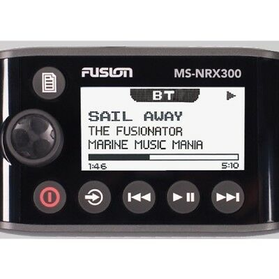 Fusion Electronics 010-01628-00 Fusion Ms-Nrx300 Wired Remote For Nmea 2000 C...