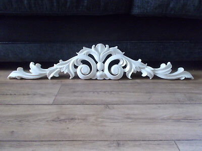 Ornate very large over door pediment Mirror Pediment 3ft Wide Silicone Mould