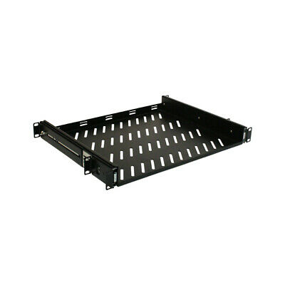 "Titan AV 19"" 1RU Server Cabinet Sliding Shelf, 350mm Deep"