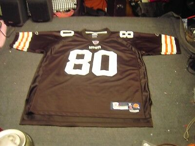 4170f247b WINSLOW 80 NFL Cleveland Browns Reebok Jersey adult Size XL Length +2