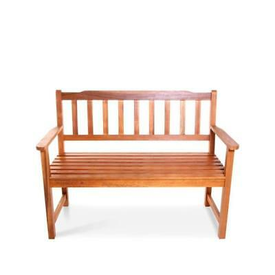 BillyOh Traditional 2 Seater Acacia Hardwood Furniture Wooden Chair Bench