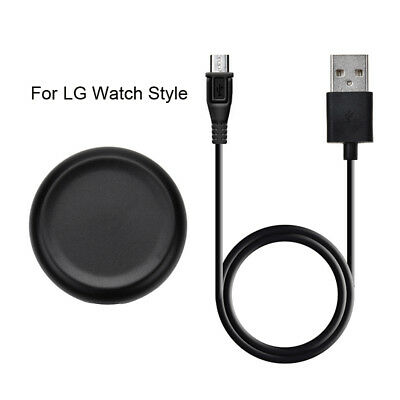 NEW For LG Watch Style Smart Watch Charger Micro USB Cable Charging Cradle Dock