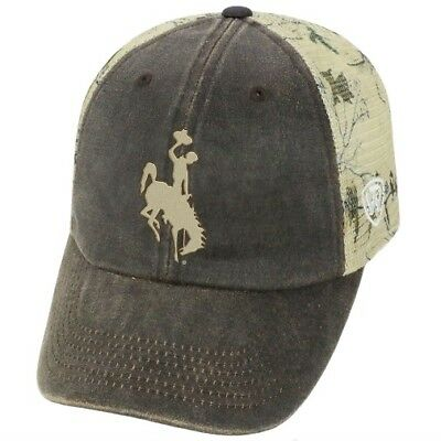 OKLAHOMA STATE COWBOYS NCAA TOW Real Tree Camo Stretch Fitted Hat