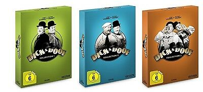 Dick & Doof Collection 1-3 (1+2+3) DVD Box Set NEU OVP Oliver Hardy, Stan Laurel