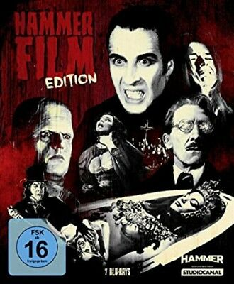 Hammer Film Edition Blu-ray NEU OVP 7 Filme Christopher Lee
