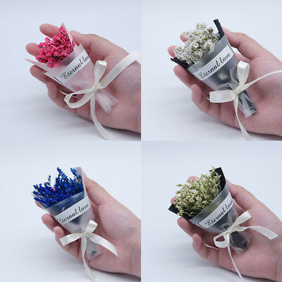 Natural Dried Flower Mini Bouquet Flowers Home Wedding Decoration Photo Props