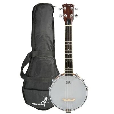 Rocket Concert Banjolele with Bag