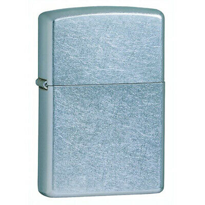 Zippo 207 Classic Street Chrome Windproof Pocket Lighter