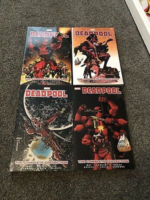 Deadpool The Daniel Way Collection Graphic Novels