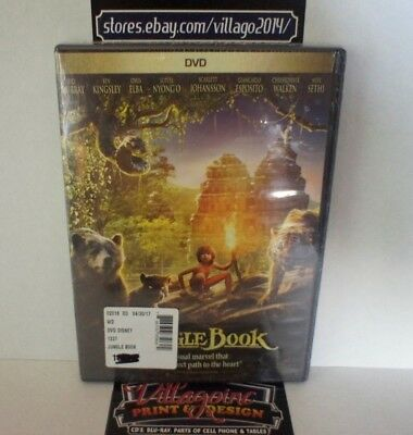 The Jungle Book NEW DVD FREE SHIPPING!!!