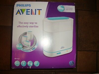 Philips AVENT 3-in-1 baby bottle Electric Steam Sterilizer