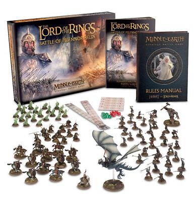 Battle of Pelennor Fields Middle Earth Lord of The Rings Strategy Battle Game
