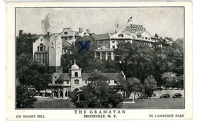 Bronxville Ny View Of Hotel Gramatan In Lawrence Park Postcard