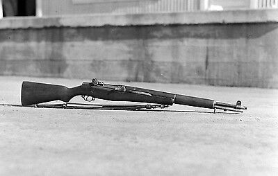 WW2 Photo WWII  US M1 Garand Rifle World War Two Infantry Weapon US Army  /1500