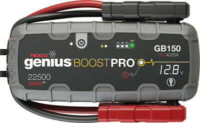 Noco Genius Boost HD 4000 Amp 12V UltraSafe Lithium Jump Starter GB150