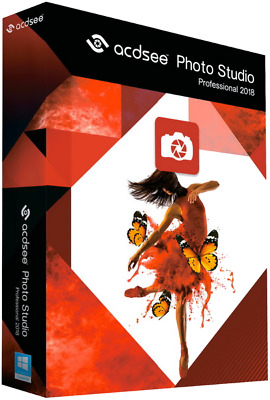 ACDSee *NEW* Photo Studio Professional 2018, instant delivery, READ DESCRIPTION