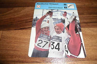 TOINI GUSTAFSSON / Nordischer Skisport -- Editions Rencontre S.A. Lausanne 1977
