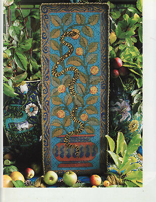 Snake in the Apple Tree Candace Bahouth Tapestry Needlepoint Chart
