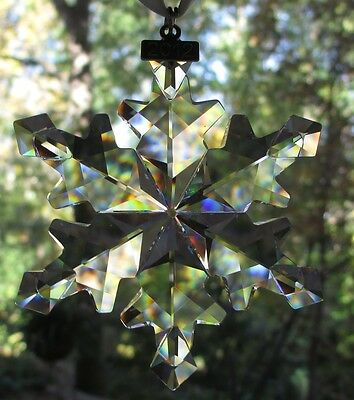 SWAROVSKI Crystal 2012 Annual Large Snowflake Star Christmas Ornament Mint & NIB