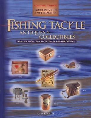 Fishing Tackle Antiques and Collectables : Flyrod Baits, Rods, and...