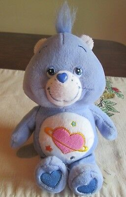 Care Bears  Day  Dream Heart Ring starry eyed  STUFFED Plush TCFC 2004