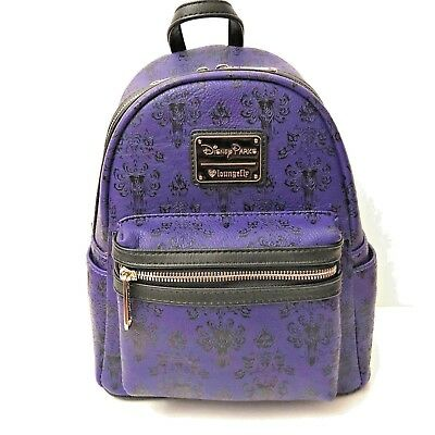 DISNEY Parks Loungefly HAUNTED MANSION Mini Backpack Purse Bag - NWT